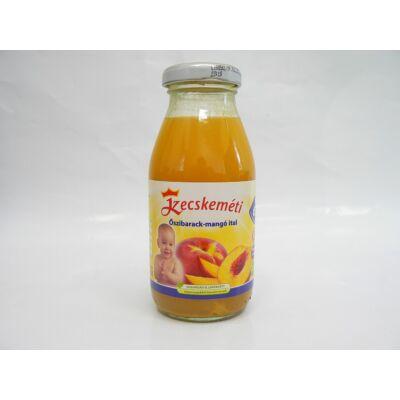 Őszibarack-mangó ital