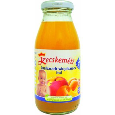 Kecskeméti Őszibarack-sárgabarack ital