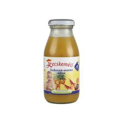 Őszibarack-ananász ital 4 hónapos kortól