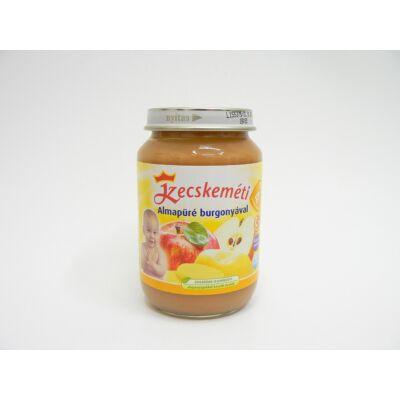Almapüré burgonyával bébiétel
