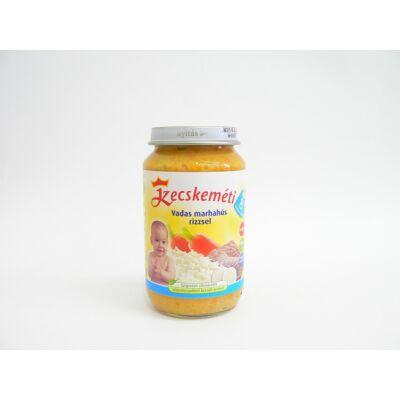 Vadas marhahús rizzsel bébiétel