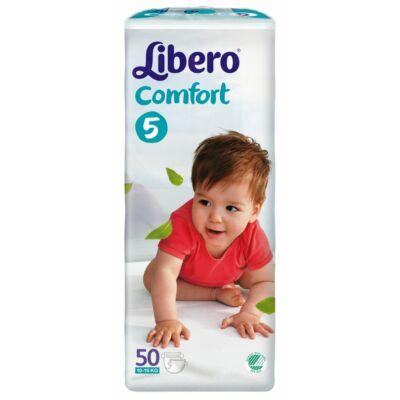 Libero Comfort Maxi+,  5 (10–16 kg) 50 db nadrágpelenka