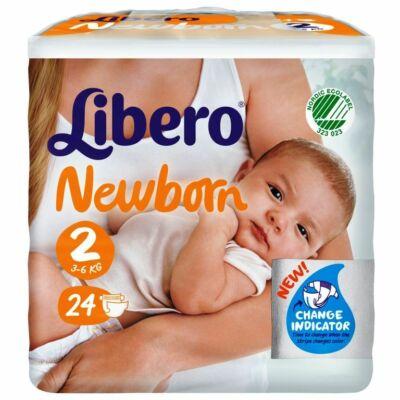 Libero Newborn 2 (3-6 kg) 24db nadrágpelenka