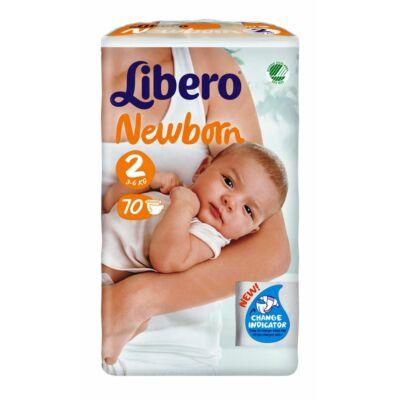 Libero Newborn 2 (3-6 kg) 70 db nadrágpelenka