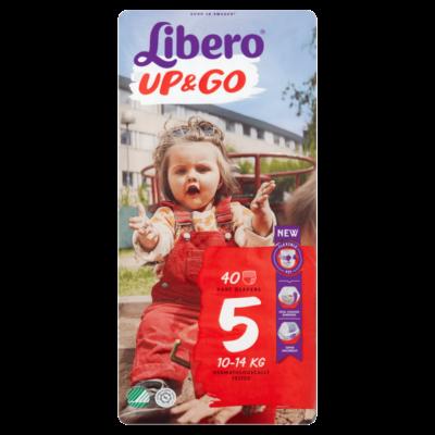 Libero Up&Go Maxi +, 5 (10-14 kg) 40db bugyipelenka