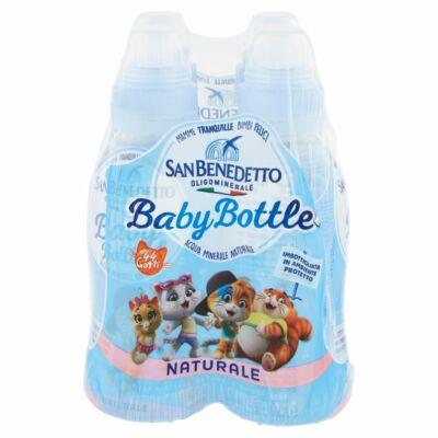 San Benedetto Baby Bottle szénsavmentes természetes ásványvíz 4x0,25 l