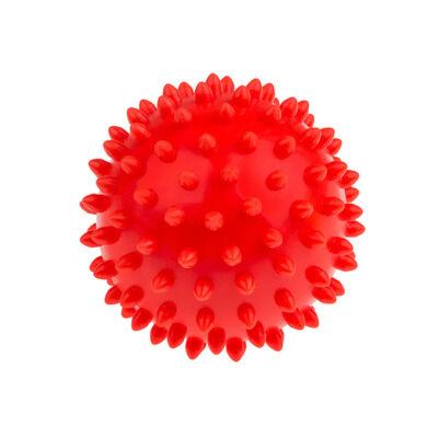 TULLO Masszázs labda, piros, 9 cm 6 hónapos kortól