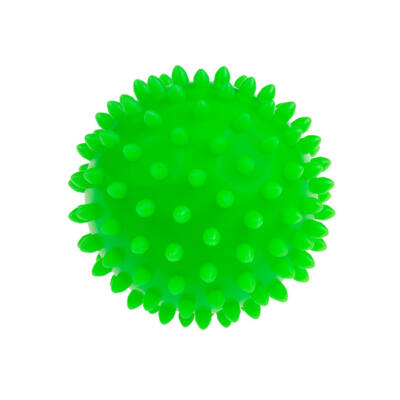 TULLO Masszázs labda, zöld, 9 cm 6 hónapos kortól