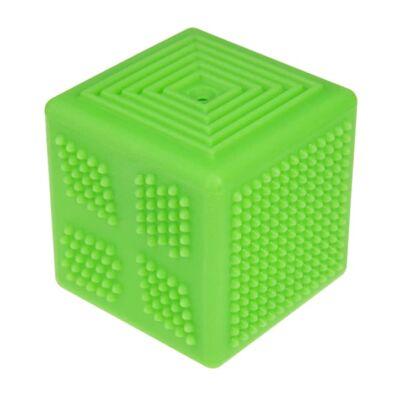 TULLO Készségfejlesztő kocka, zöld, 0+ hó