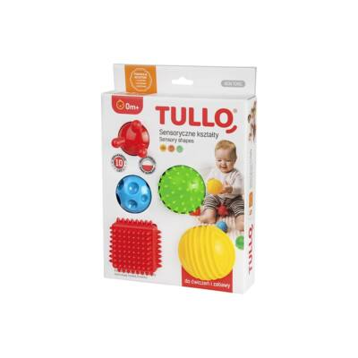 TULLO Készségfejlesztő formák 5 db 0+ hó