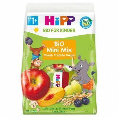 HiPP BIO Gyümölcsös müzli falatok, kétféle íz 1-3 éves kortól 100g