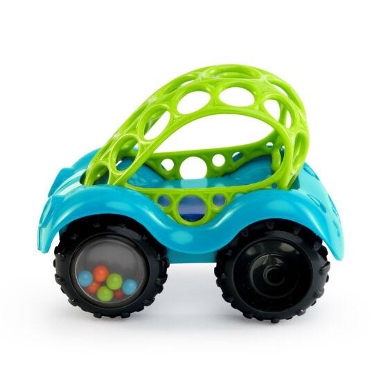 Játék autó Oball, 0 hó+, Kék-zöld