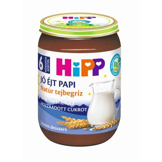 HiPP Natúr tejbegríz BIO bébiétel