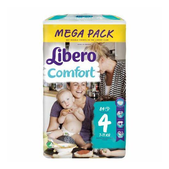 Libero Comfort Maxi, 4 (7-14 kg) 84 db nadrágpelenka