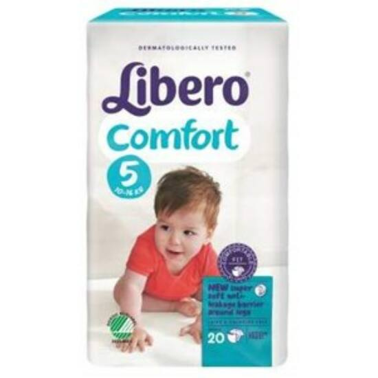 Libero Comfort Maxi+, 5 (10–16 kg) 20 db nadrágpelenka